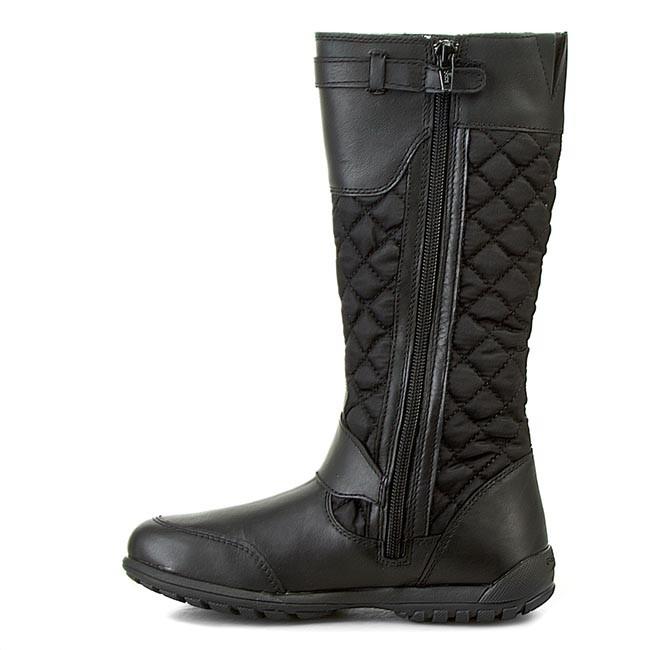 Knee High Boots GEOX J Crissy B Abx B J44A9B 0FU43 C9999 D Black
