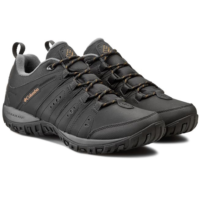 Trekker Boots COLUMBIA - Woodburn II BM3924 Black/Caramel