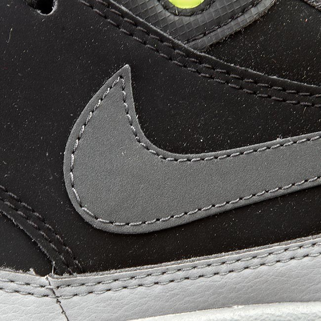 promo code 9e204 00e1d Shoes NIKE - Nike Air Max 1 Ltr 654466 007 Black Dark Grey Silver