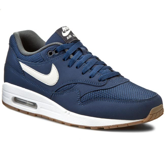 wholesale dealer 30df4 16f42 Shoes NIKE. Air Max 1 Essential 537383 401 Midnight Navy Light Bone White