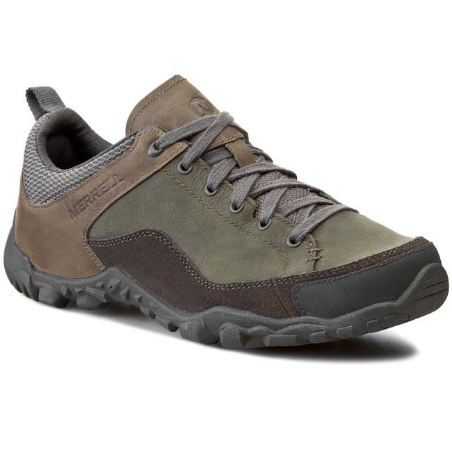 29cdf9623 Trekker Boots MERRELL - Telluride Lace J23539 Granite - Trekker boots - Low  shoes - Men's shoes - efootwear.eu