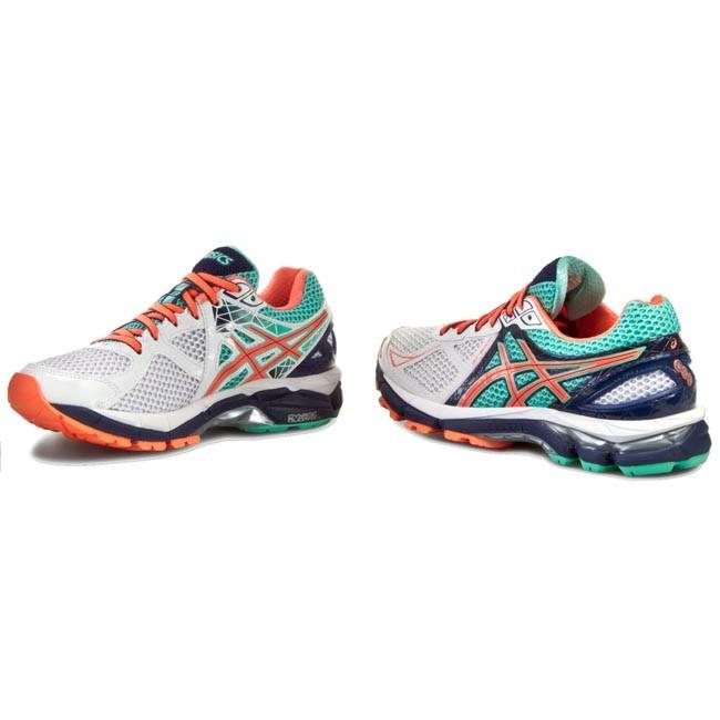 Shoes ASICS - Gt-2000 3 T550N White Flash Coral Aqua Mint 0106 ... b5239665a1