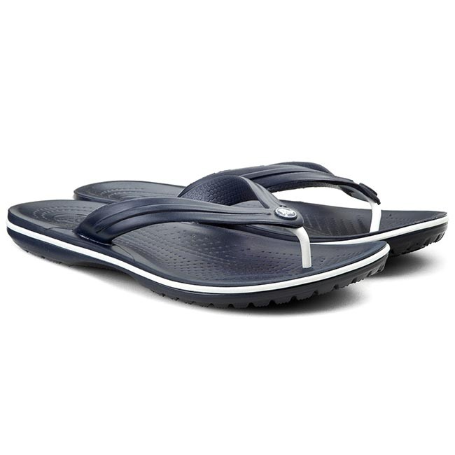 Slides CROCS - Crocband Flip 11033 Navy - Flip-flops - Mules and sandals -  Women s shoes - www.efootwear.eu f6129be285