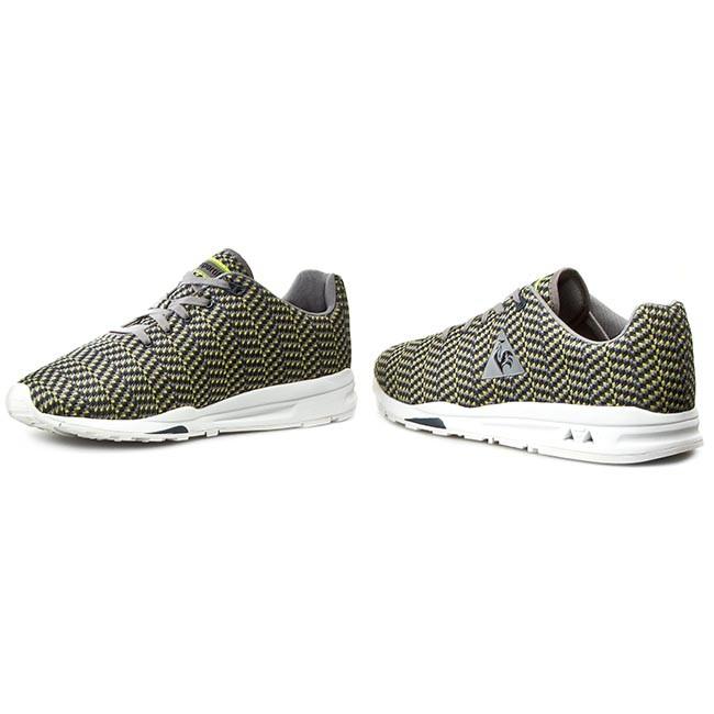 size 40 b4966 cf76b Sneakers LE COQ SPORTIF - Lcs R950 Jacquard 1521364 Titanium Safety Yellow