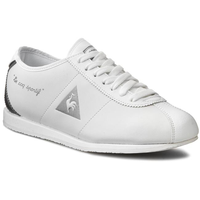 detailing 841c5 5485e Sneakers LE COQ SPORTIF. Wendon W Leather 1520909 White Silver