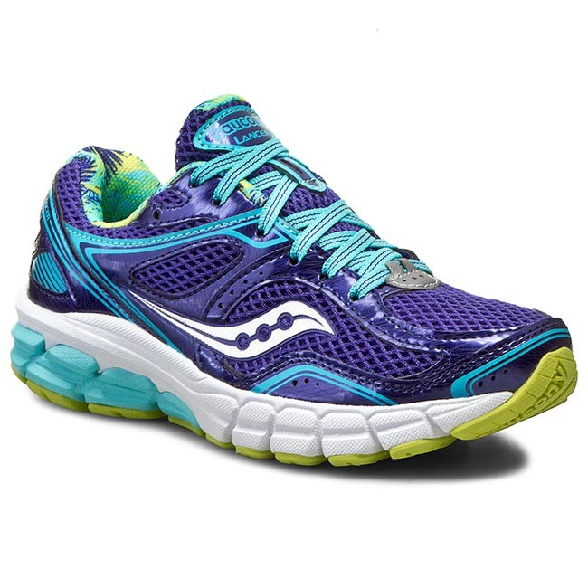 Shoes SAUCONY  Progrid Lancer S152273 NvyBluCyn  Indoor  Running shoes  Sports shoes  Womens shoes       0000197709854