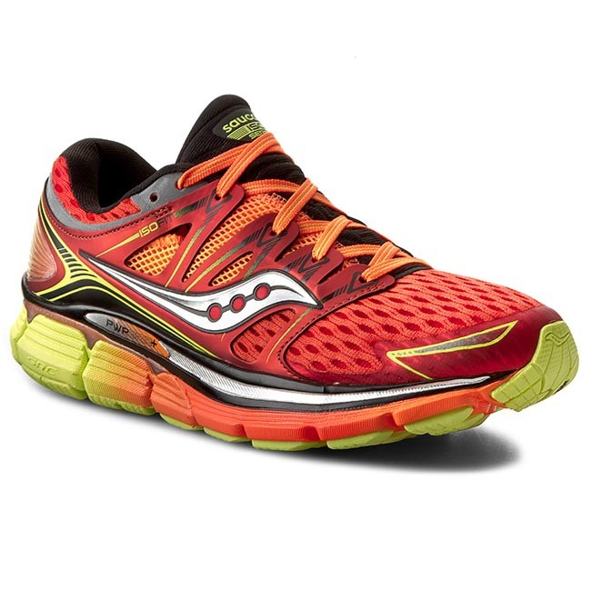 shoes saucony - triumph iso s20262-5 red/org/ctn - indoor