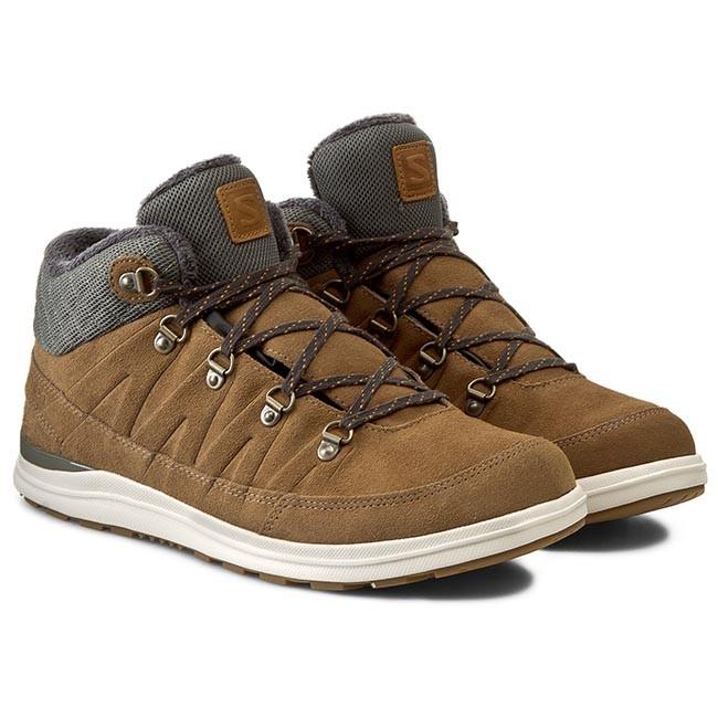 Trekker Boots SALOMON Xa Chill Mid Ts Wr 376457 29 V0 Camel LtrTempestYellow Gold