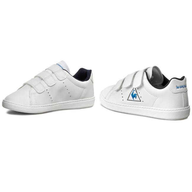 100686aab4a2 Sneakers LE COQ SPORTIF - Courtone Ps 1520948 Optical White - Velcro ...
