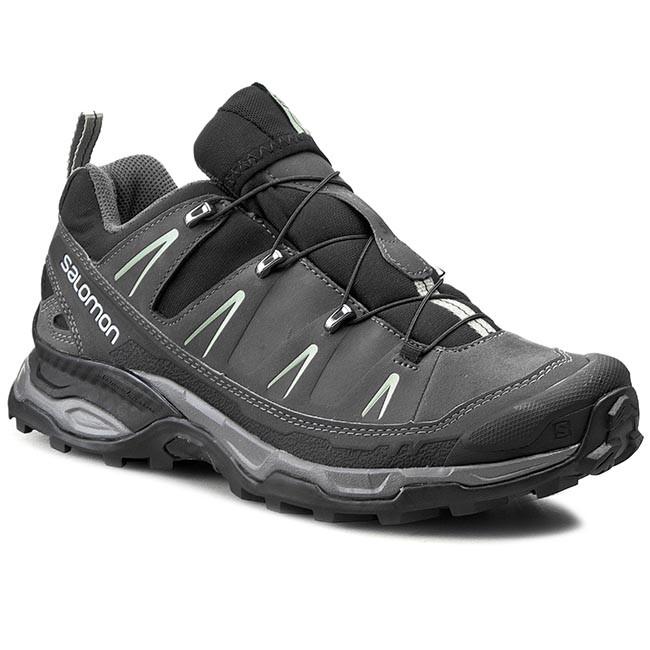 ecc6e91da515 Trekker Boots SALOMON - X Ultra Ltr 371682 28 V0 Black Autobahn Green Clay
