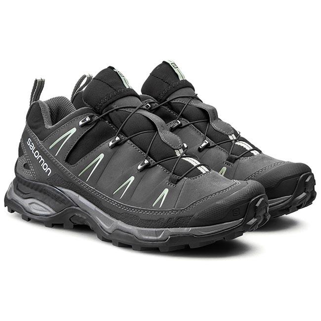 0d281942d3fc Trekker Boots SALOMON - X Ultra Ltr 371682 28 V0 Black Autobahn Green Clay  - Trekker boots - Low shoes - Men s shoes - www.efootwear.eu