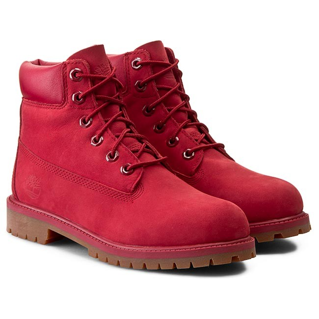 outlet store reliable quality so cheap Hiking Boots TIMBERLAND - 6 In Premium Wp Boot A13HV/TB0A13HV6261 Red