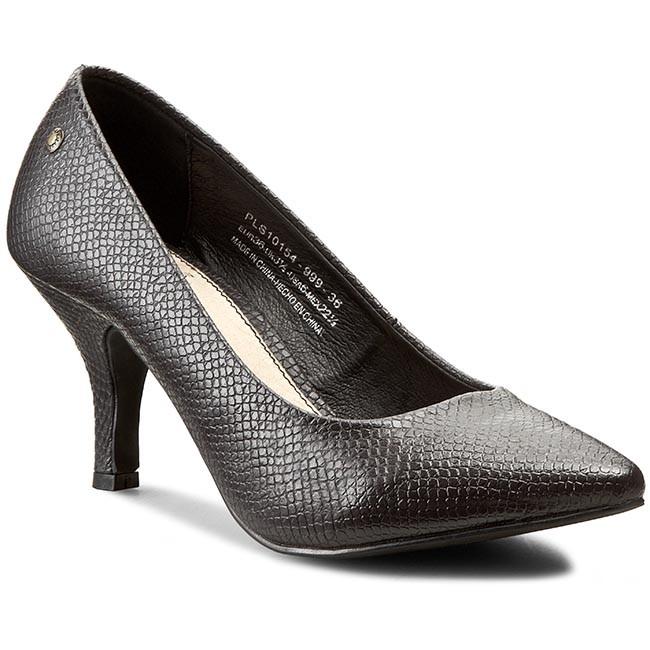 Zapatos PEPE JEANS - Megan Snake PLS10154 Black 999 Yzo2kGQIM