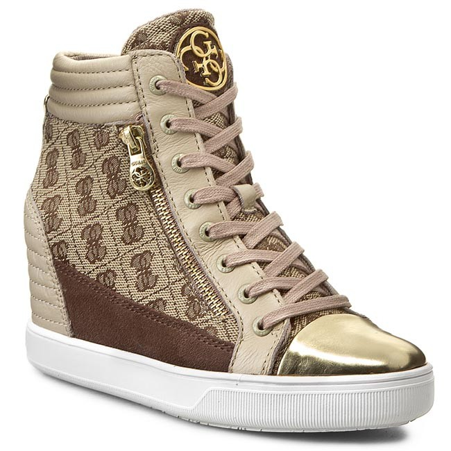 Sneakers GUESS - Janet FL4JNT FAL12 BEIBR - Sneakers - Low shoes ... ed7057b469f