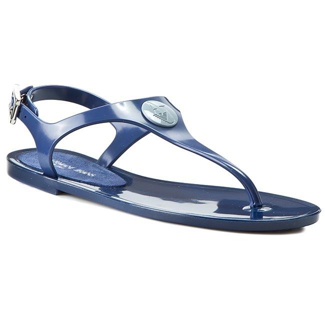 e78cc26c2d17 Slides ARMANI JEANS - C55G6 76 5G Blue - Casual sandals - Sandals ...