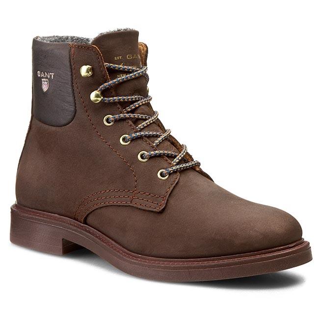 Ashley Boots - Dark Brown GANT Shop Cheap Price Wiki Cheap Price 2NNvHQ