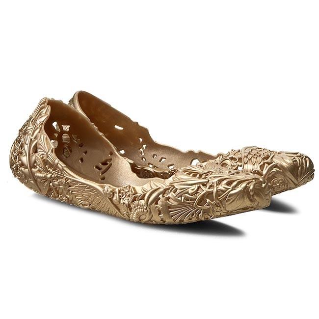 Flats MELISSA - Campana Barroca Ad 31672 Gold 06661