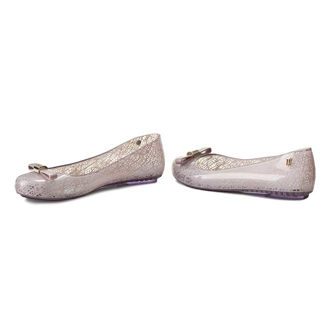 Flats MELISSA - Space Love+Jason Wu 31700 Clear/Pink 50490