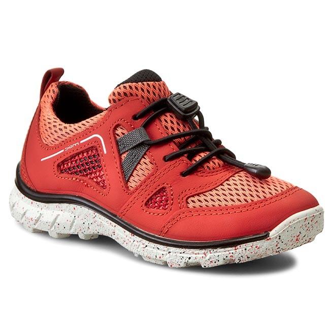 dc70ee9902d1c7 Shoes ECCO - Biom Trail Kids 70267259457 Coral Blush Black - Laced ...