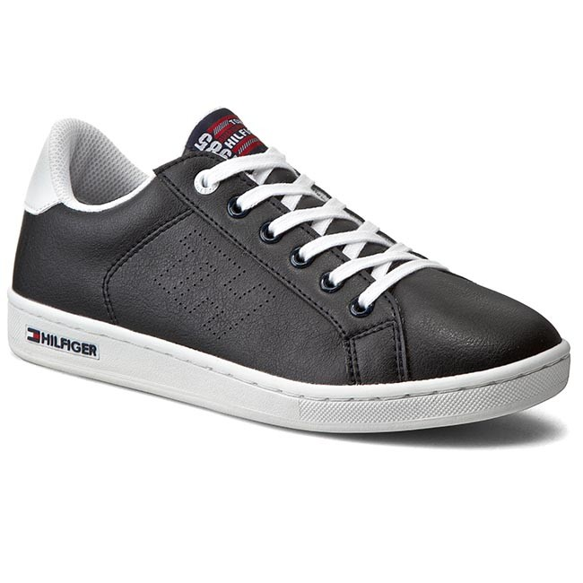 f16513716689 Shoes TOMMY HILFIGER - Basket 1S FB56820855 Midnight White 403 ...