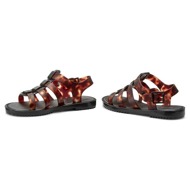 Tortoise Flox Sandals MELISSA BlackBrown 31764 52761 Ad IV gYxan6BwFq