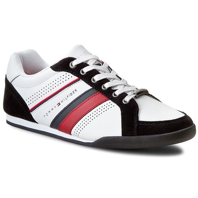 Sneakers 100 WhiteMidnight TOMMY FM56821104 HILFIGER Riley 4C rwqO7B8r0