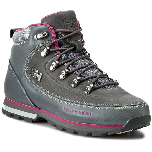 Trekker Boots HELLY HANSEN - W The Forester 105-16.723 Mid Grey Hot ... 5aa38c1862