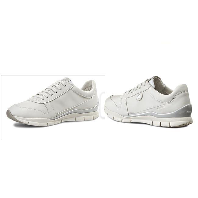 Shoes GEOX - D Sukie A D52F2A 00085 C1000 White - Flats - Low shoes ... 0d7e17435ca