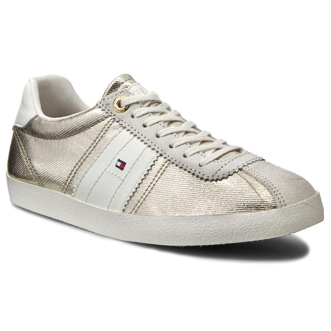 Sneakers TOMMY HILFIGER - Lizzie 1D1 FW56820805 Gold 765
