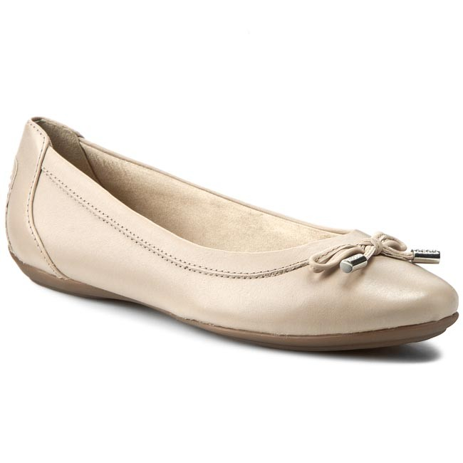 Flats GEOX  D Charlene A D32Y7A 00043 C6738 Lt Taupe  Ballerina shoes  Low shoes  Womens shoes       0000197789184