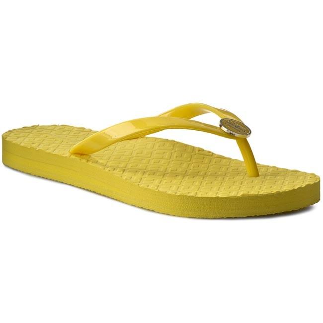 8df90271073cd Slides TOMMY HILFIGER - Monica 33R FW56820726 Lemon 720 - Flip-flops ...