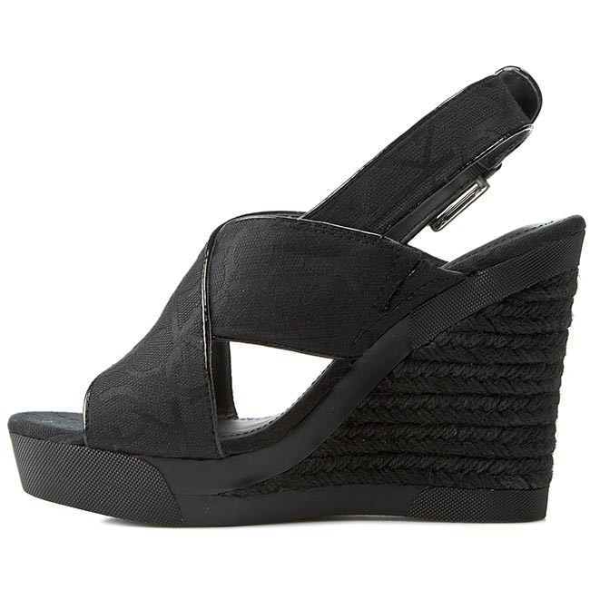 Espadrilles Calvin Klein Jeans - Elaine Re9607 Black UyKEzB1IPP
