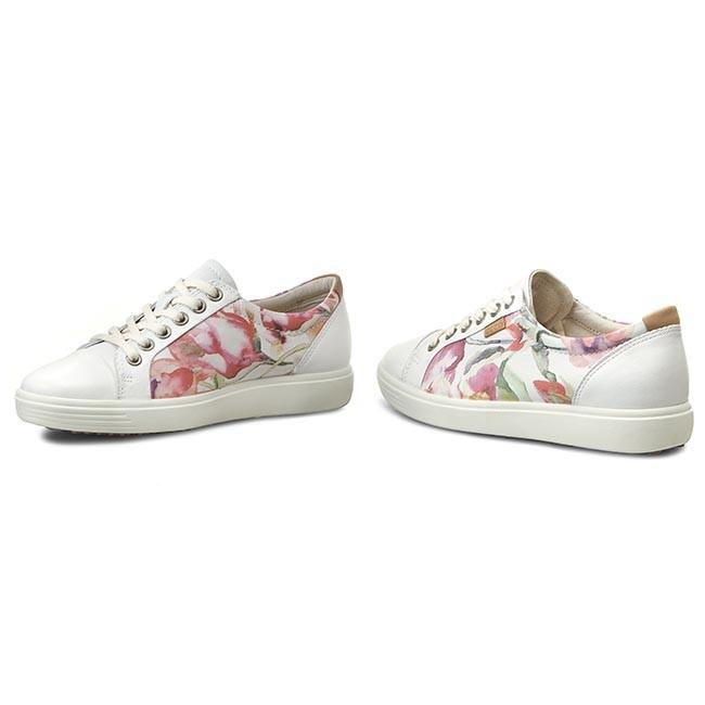 rosh run bleue - Shoes ECCO - Soft 7 Ladies 43000359768 White Floral Print/White ...