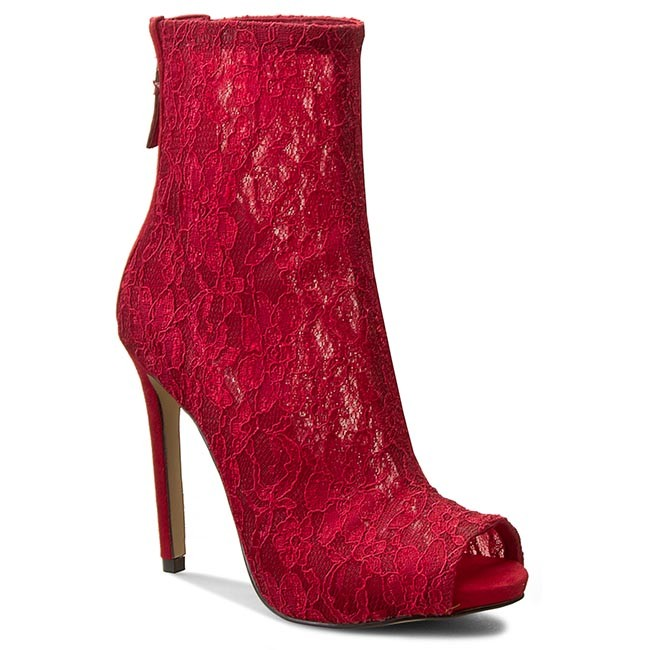 b6cd58c229f291 Boots GUESS - Arya FLARY1 LAC10 RED - Boots - High boots and others ...