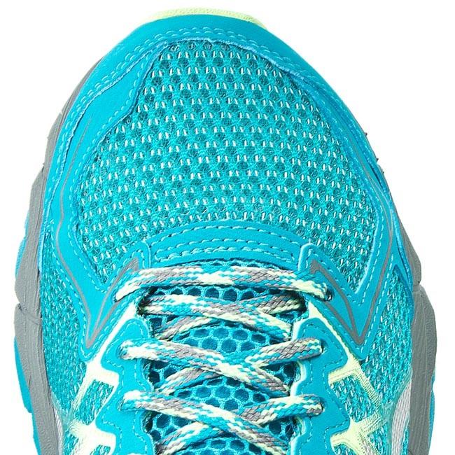 Shoes ASICS Gel Fuji Trabuco 4 Neutral T5L8N Enamel BlueSilverMix Grey 5393