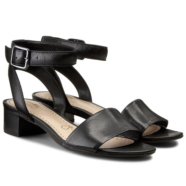 e4123a06b75 Sandals CLARKS - Sharna Balcony 261176794 Black Leather - Casual sandals -  Sandals - Mules and sandals - Women s shoes - www.efootwear.eu