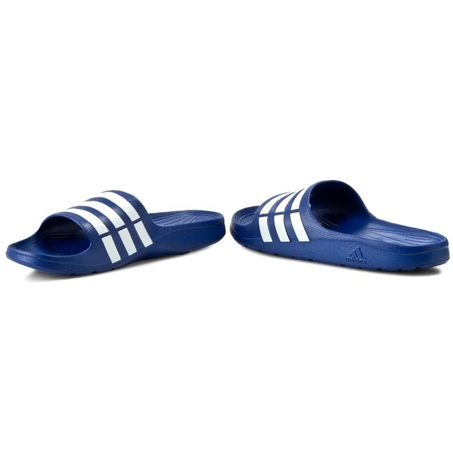 6142c8d7d00 Slides adidas - Duramo Slide G14309 Trublue Wht Trublu - Flip-flops ...