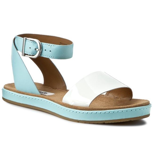 fabf4d56d Sandals CLARKS - Romantic Moon 261177514 Duckegg Blue - Casual ...