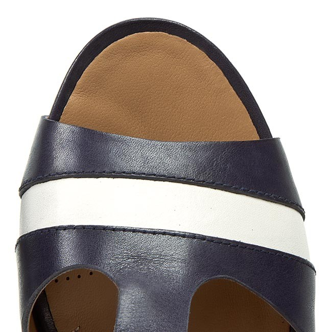f654363f8 Sandals CLARKS - Rusty Rebel 261157814 Navy Leather - Casual sandals -  Sandals - Mules and sandals - Women s shoes - www.efootwear.eu