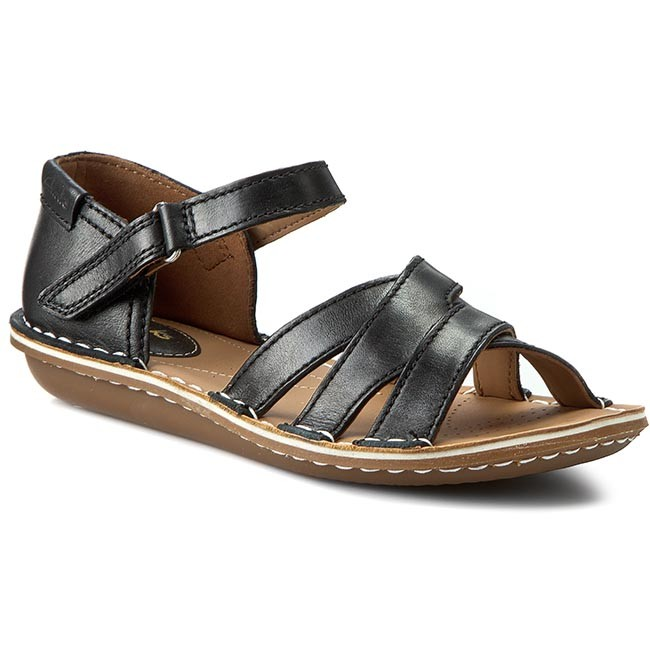 Clarks Tustin Sahara - Sandals Black Women