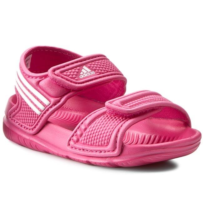Sandals adidas - Akwah 9 I AF3867 Eqtpink Ftwwht Eqtpink - Sandals ... a9863f9ad76