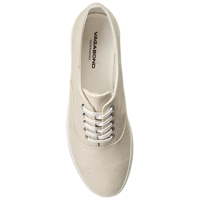 180 Shoes Keira 4144 Plimsolls Vagabond Low 02 White Flats Off WYEH9ID2