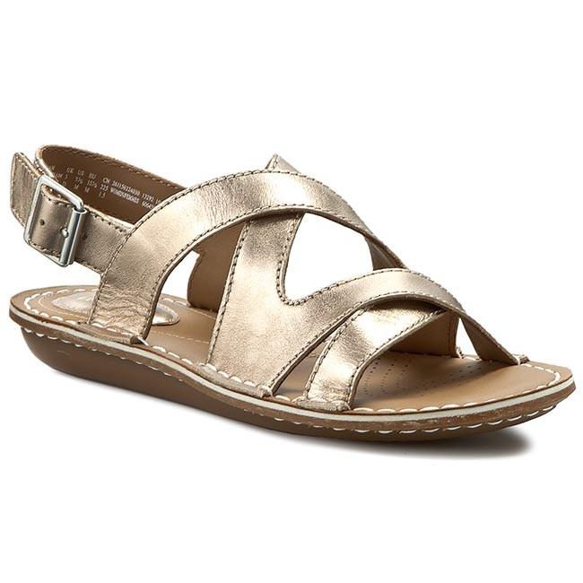 a63bdabb462b0b Sandals CLARKS - Tustin Spears 261156224 Metallic Leather - Casual ...