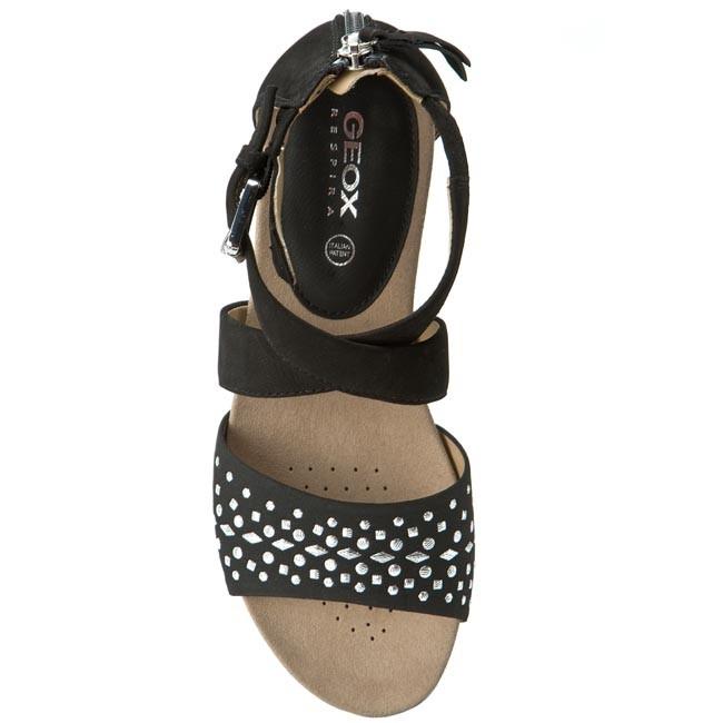 Sandals GEOX D Formosa D D6293D 0LTSD C9999 Black Casual