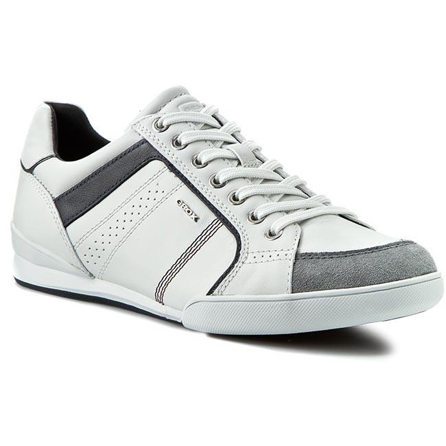 Sneakers GEOX - U Kristof A U620EA 08522 C1Z1V White/Shells