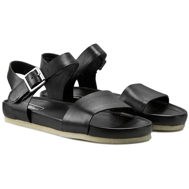 261070574 Casual Dusty Black Soul Sandals sandals Leather CLARKS OCqw1