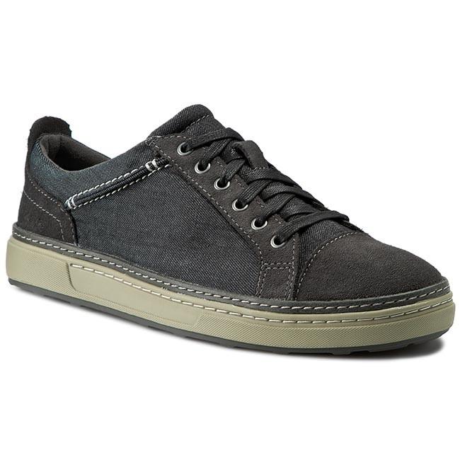 CLARKS Lorsen Edge Black Shoes Casual Low 261177557 Combi R8vWw