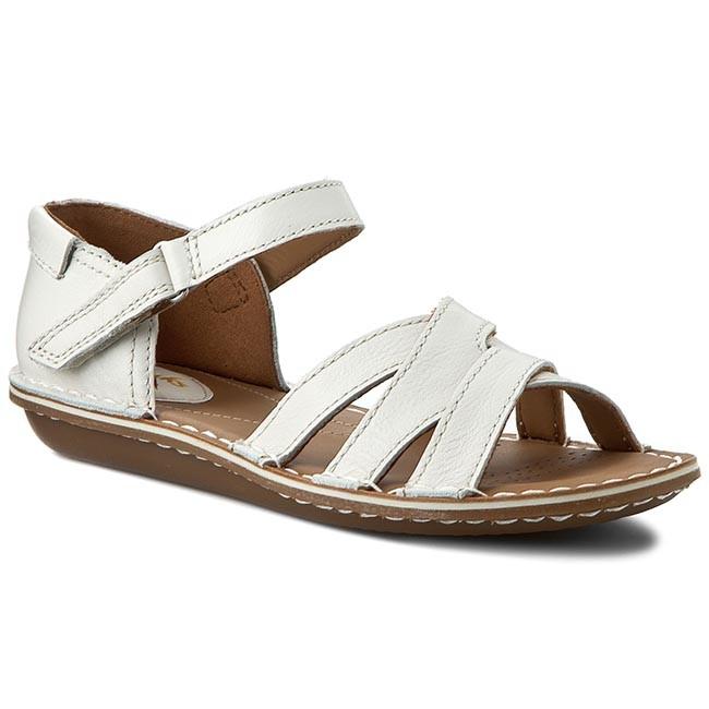 fa450e39617443 ... Sandals CLARKS - Tustin Sahara 261175254 Off White Lea half off e4828  b154f ...