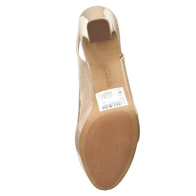 Sandalen CLARKS Jenness Sound 261151394 Sand Elegante