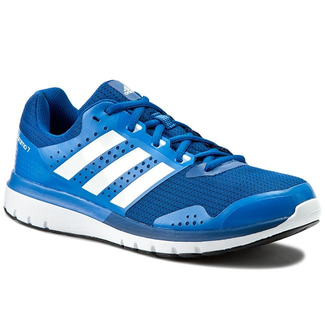 Scarpe adidas duramo 7 m indoor af6666 blu, scarpe da corsa
